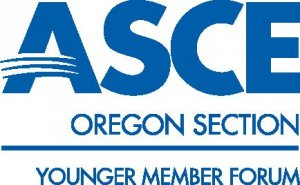 Oregon ASCE Younger Member Forum logo