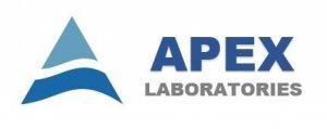 Logo for Apex Labratories, LLC, an NEBC member and sponsor